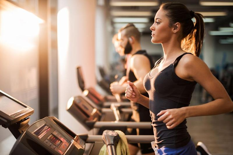 Study reveals women aren't working out because of their boobs. Photo: Getty