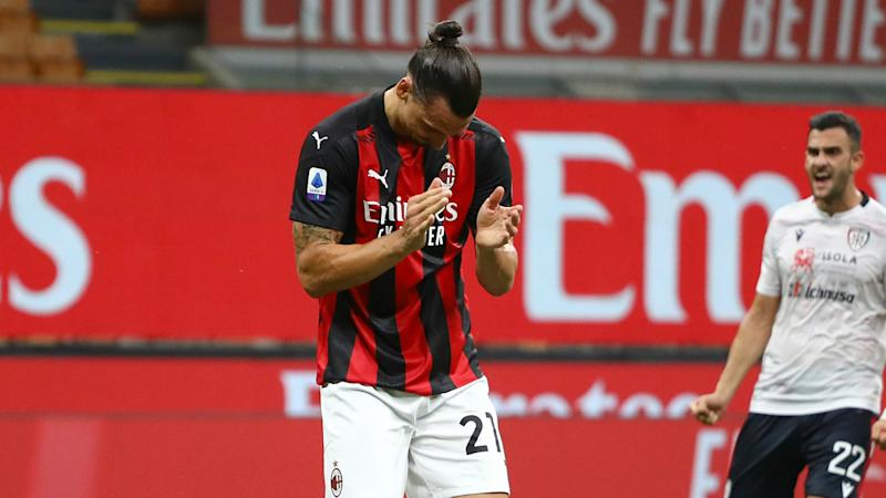 Ibrahimovic hits double figures and makes Serie A history