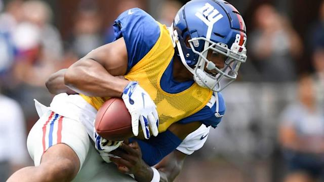 Giants' Sterling Shepard may return this season after all