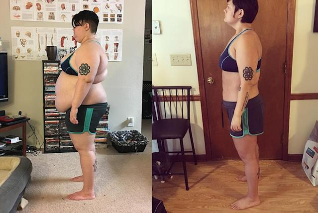 Devin Muffley switches up her workouts to stay engaged. (Photos: Courtesy of Devin Muffley)