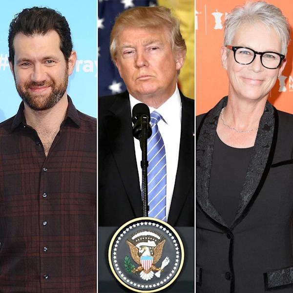 Stars react to the prospect of arts and humanities programs potentially losing national funding at the hands of the current president