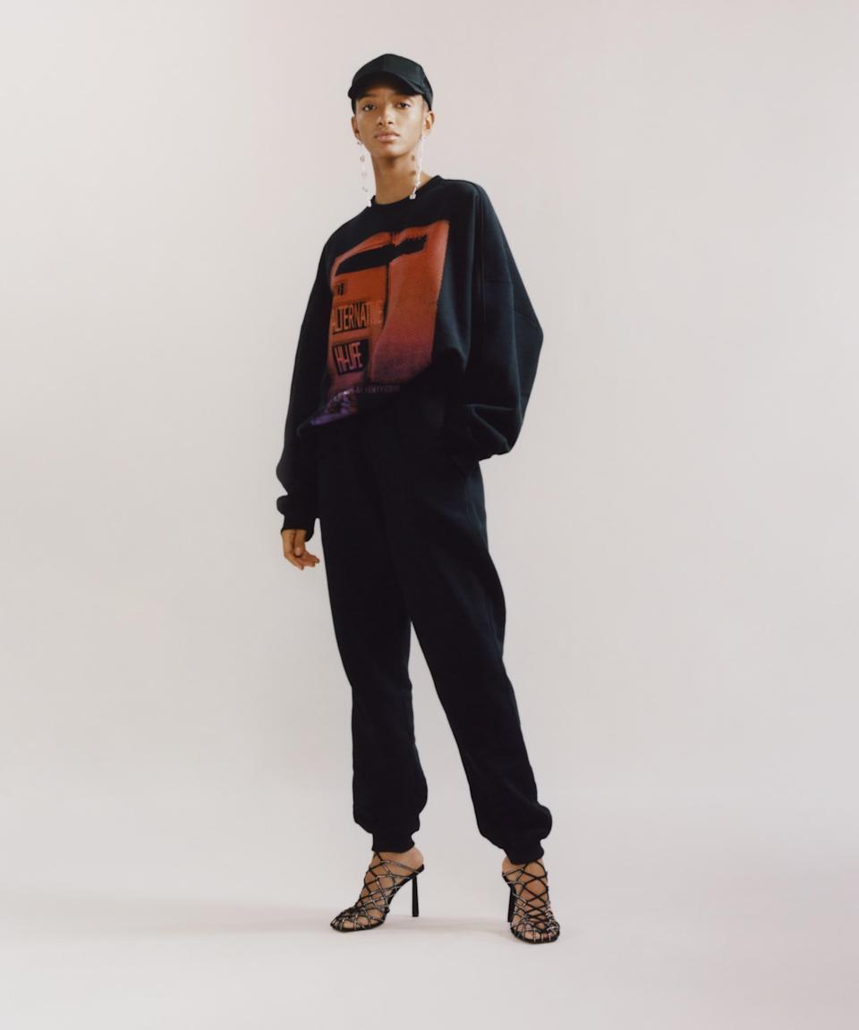"""<p><strong>Fenty</strong></p><p>fenty.com</p><p><strong>$220.00</strong></p><p><a href=""""https://www.fenty.com/us/en/products/pants-skirts-jersey-joggers-jet-black-m/102790.html"""" rel=""""nofollow noopener"""" target=""""_blank"""" data-ylk=""""slk:Shop Now"""" class=""""link rapid-noclick-resp"""">Shop Now</a></p><p>Rihanna is just amazing. You might be familiar with her color-inclusive makeup line Fenty Beauty, but her high-end fashion label carries everything from shoes to sunglasses to street wear.</p>"""
