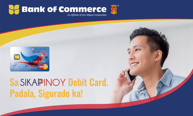 bank of commerce sikap pinoy ofw account