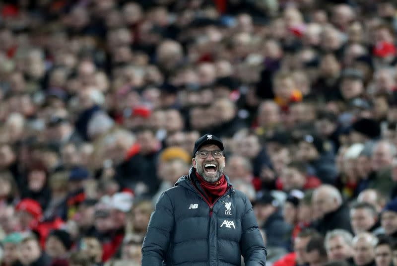 Klopp calls on injury-hit Liverpool to soldier on for Everton cup tie