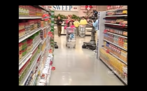 """<p>During any grocery store run, the best strategy is to divide and conquer...but not on <em>Supermarket Sweep</em>. The show only allows <a href=""""https://gameshows.fandom.com/wiki/Supermarket_Sweep"""" rel=""""nofollow noopener"""" target=""""_blank"""" data-ylk=""""slk:one team member to be in the aisles at a time"""" class=""""link rapid-noclick-resp"""">one team member to be in the aisles at a time</a>, with the other teammate waiting at the checkout counter.</p>"""