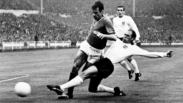 <p>England '66 was quite the historic tournament, as it marked the very first time the World Cup was aired on television. It was also the first and only time the Three Lions won the prestigious competition (in case you didn't know). </p> <br><p>The hosts had to get through a very tough group consisting of Uruguay, two-time champions, a strong French side, and new kids on the block Mexico.</p> <br><p>Sir Alf Ramsey's men advanced from the group along with Uruguay, with the matches turning out to be quite low-scoring affairs, with the two progressing sides only notching six between them in six matches.</p>
