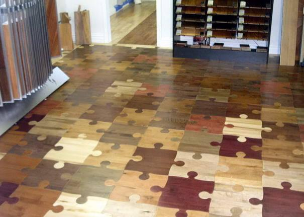 Puzzle addicts, this floor's for you.