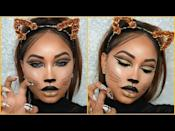 "<p>There might be a drawn-on nose and whiskers involved, but this sparkly Halloween tutorial from Melly Sanchez is nothing but glamour. </p><p><a href=""https://www.youtube.com/watch?v=PJ6eHU2N0DA"" rel=""nofollow noopener"" target=""_blank"" data-ylk=""slk:See the original post on Youtube"" class=""link rapid-noclick-resp"">See the original post on Youtube</a></p>"