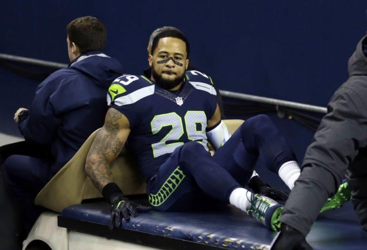 Earl Thomas will miss the rest of the season with a leg injury. (AP)