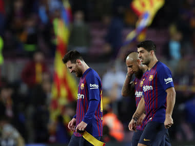 Copa del Rey: Lionel Messi fails to inspire Barcelona off the bench as Real Madrid earn draw in first leg of semi-final