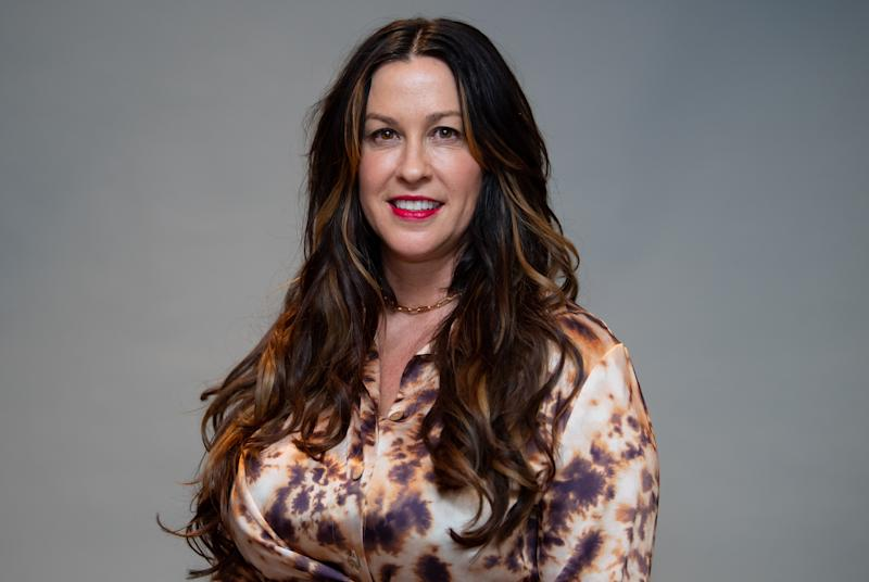 """Alanis Morissette revealed some personal history in a new episode of """"Armchair Expert with Dax Shepard."""" (Photo: Sven Hoppe/picture alliance via Getty Images)"""
