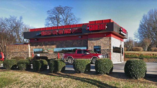PHOTO: The Cook Out restaurnat in Roxboro, N.C., June 2013. (Google Street View)
