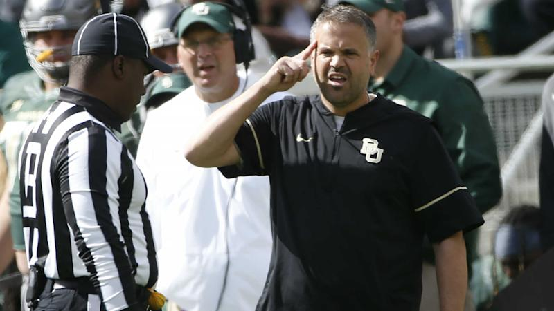 Baylor coach Matt Rhule confirms players 'separated' from team amid sexual assault investigation
