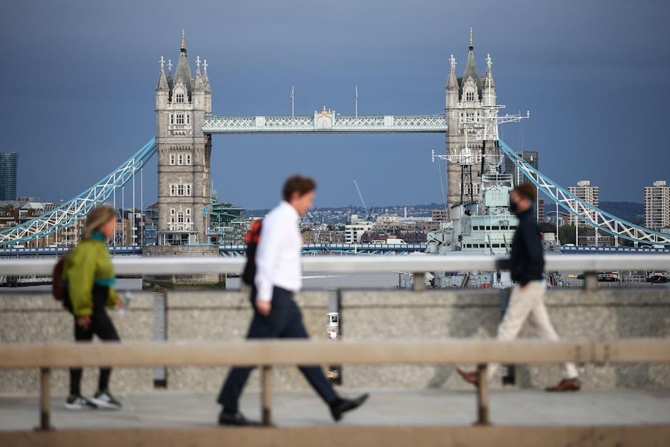 From Sunday, companies are being asked to contribute 20 per cent of their furloughed staff's wages (Getty Images)