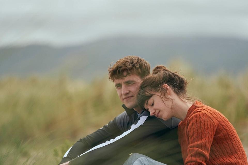 Paul Mescal and Daisy Edgar Jones as Connell and Marianne (Photo: BBC/Element Pictures/Hulu)