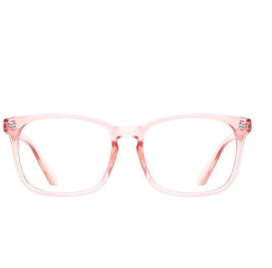 """These scratch-resistant computer glasses come in 10 clear frame shades, from pink to blue. <a href=""""https://amzn.to/2CiAbrN"""" rel=""""nofollow noopener"""" target=""""_blank"""" data-ylk=""""slk:Get them for under $20 on Amazon"""" class=""""link rapid-noclick-resp"""">Get them for under $20 on Amazon</a>."""