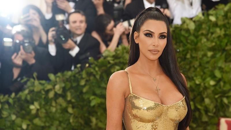 Kim Kardashian Shares Adorable Pic of Saint and Chicago