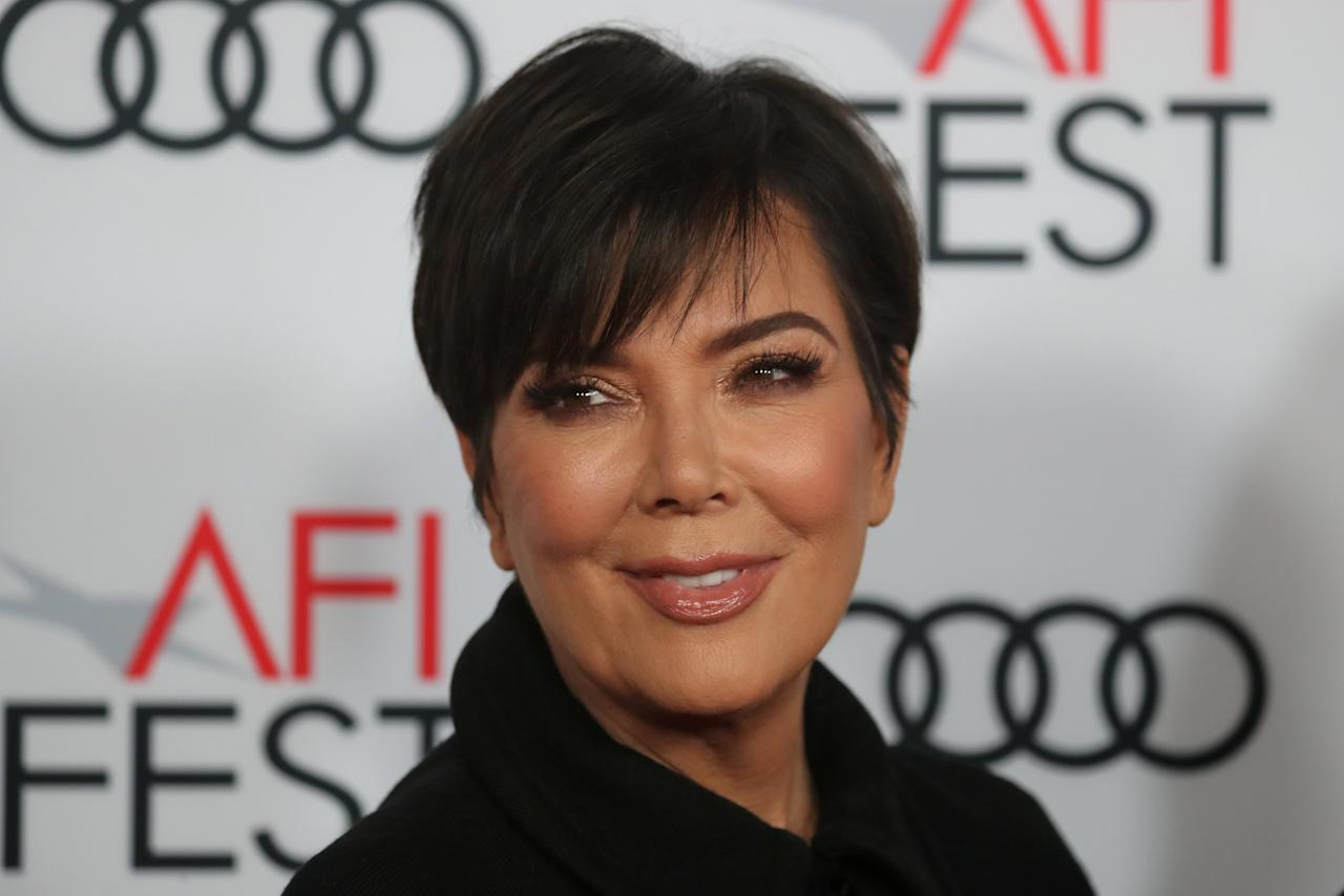 "Kris Jenner arrives for the gala presentation of ""The Disaster Artist"" at the AFI Film Festival in Los Angeles, California, U.S., November 12, 2017. REUTERS/Mike Blake"