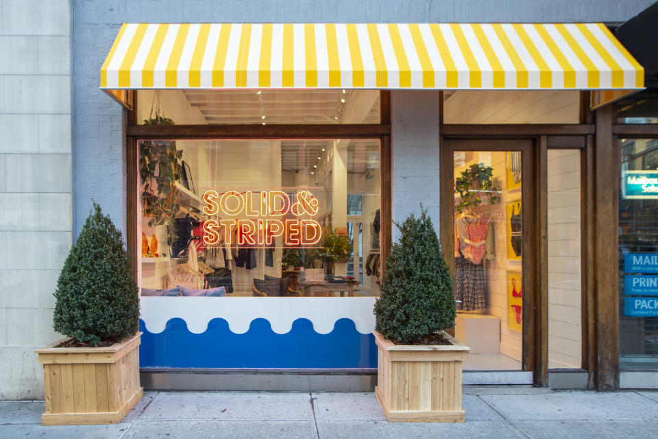 Swimwear Brand Solid & Striped Opens Pop-up in Florida - Yahoo Lifestyle