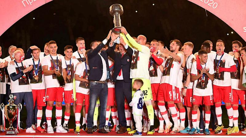 Coronavirus: Five Red Star Belgrade players test positive for COVID-19 after title celebrations