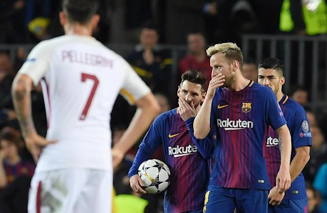 Croatian Ivan Rakitic will be asked for advice on how to thwart his Barcelona teammate Lionel Messi ahead of the clash with Argentina (AFP Photo/LLUIS GENE)