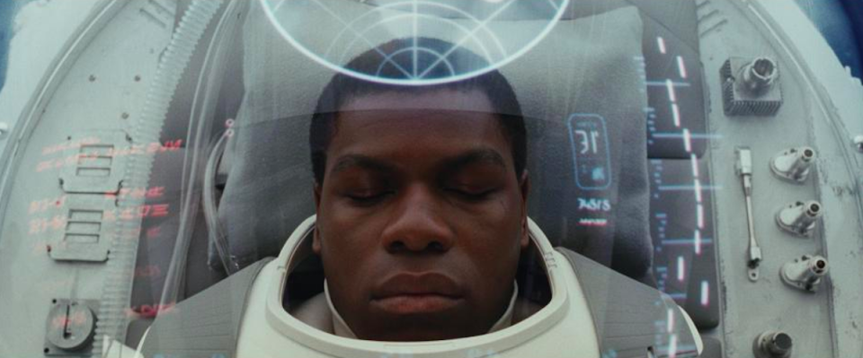 <p>What of our other heroes? While Rey has been seeking answers to her questions about the Force, ex-Stormtrooper Finn (John Boyega) has been in a Kylo Ren-induced coma.<br>(Credit: Lucasfilm) </p>