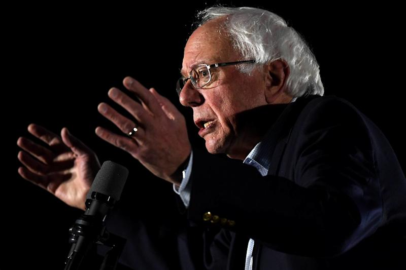 Sen. Bernie Sanders gathered the climate change faithful for a star-studded town hall meeting in Washington on Dec. 3. (Photo: Fortune)