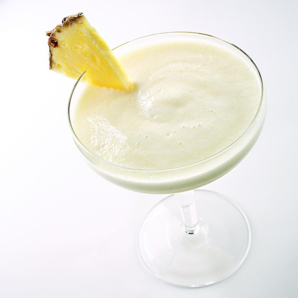 "<p>This lower-calorie, nonalcoholic version of piña colada uses ripe bananas blended with fresh pineapple and coconut milk. Serve it in festive tropical-drink glasses. <a href=""http://www.eatingwell.com/recipe/249919/virgin-banana-pina-colada/"" rel=""nofollow noopener"" target=""_blank"" data-ylk=""slk:View recipe"" class=""link rapid-noclick-resp""> View recipe </a></p>"