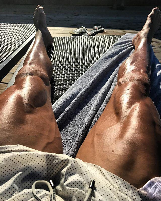 """<p>Need some inspiration for leg day? Look no further than this May 2017 shot.</p><p><a href=""""https://www.instagram.com/p/BUmiZMQFjjA/"""" rel=""""nofollow noopener"""" target=""""_blank"""" data-ylk=""""slk:See the original post on Instagram"""" class=""""link rapid-noclick-resp"""">See the original post on Instagram</a></p>"""