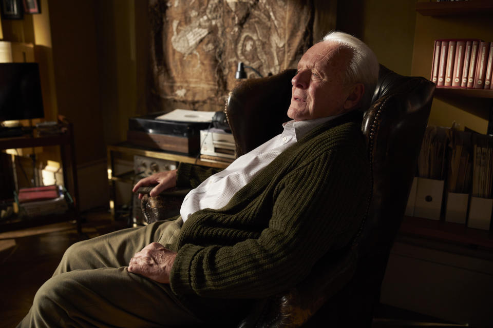 Anthony Hopkins in The Father (Lionsgate)