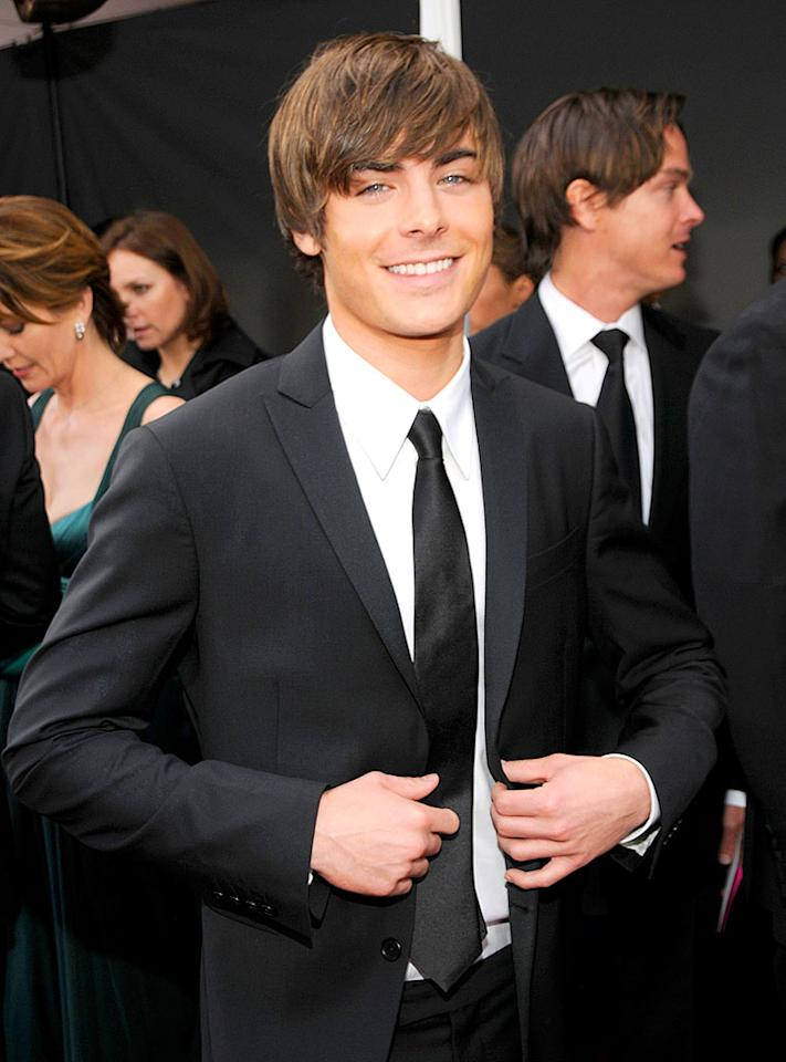 """Who doesn't have a crush on """"Hairspray"""" hottie Zac Efron? Kevin Mazur/<a href=""""http://www.wireimage.com"""" target=""""new"""">WireImage.com</a> - January 27, 2008"""