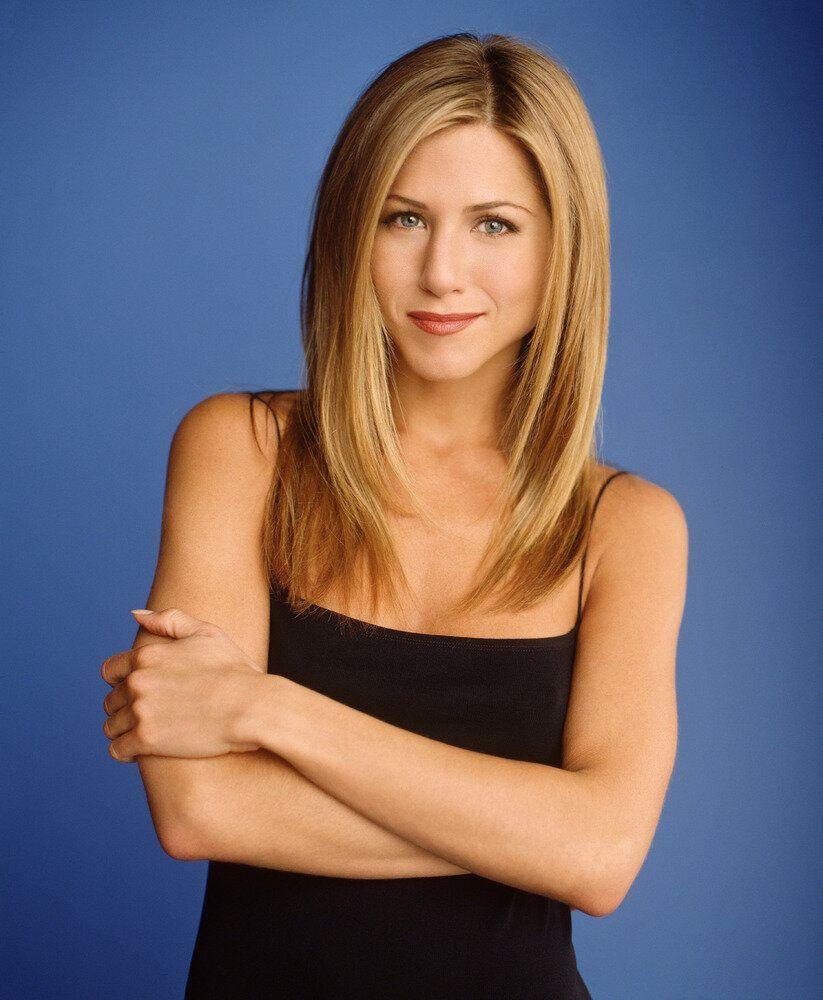 Actress Jennifer Aniston star as Rachel Green of NBC's comedy series 'Friends.' (Photo by Warner Bros. Television)
