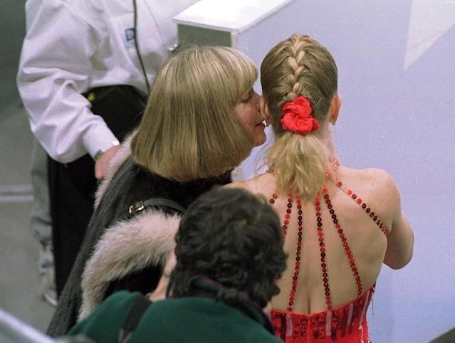 <strong>Diane was by Tonya's side at the Lillehammer Olympics</strong>