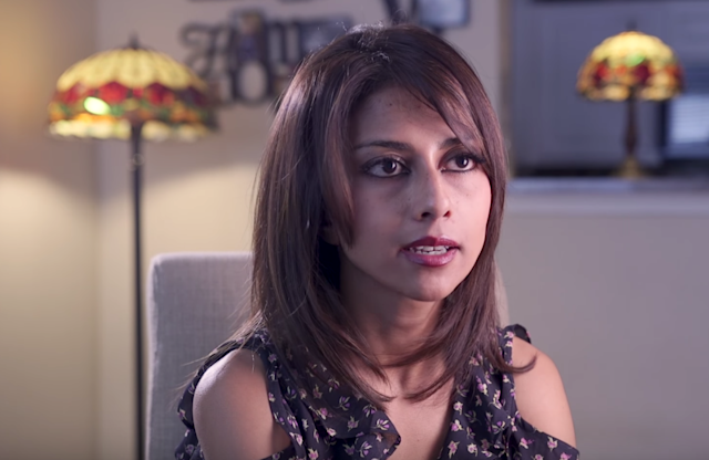 Tania Georgelas escaped her jihadi lifestyle in 2013, leaving her American husband, who remains in ISIS. She is currently living in suburban Dallas. (Photo: YouTube/The Atlantic)