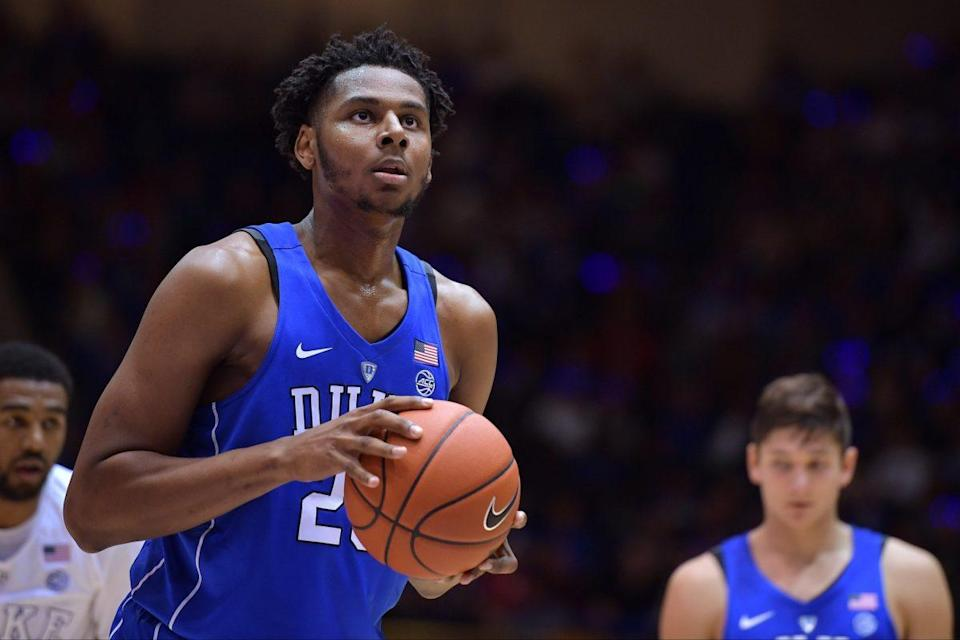 Marques Bolden sustained an unspecified injury to his lower left leg. (Getty Images)