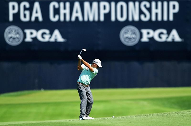 Tiger Woods could be leading the PGA Championship, but he's not