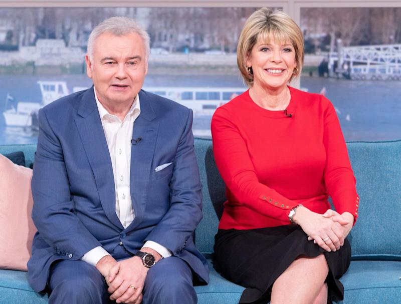 Eamonn with his wife and co-host Ruth Langsford (Photo: Ken McKay/ITV/Shutterstock)