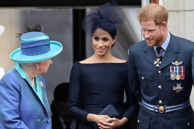 BREAKING: The Queen releases statement about Prince Harry and Meghan Markle's royal future