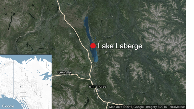 The body of a canoeist recovered from Lake Laberge has been identified, and the investigation into what happened continues.  (CBC - image credit)