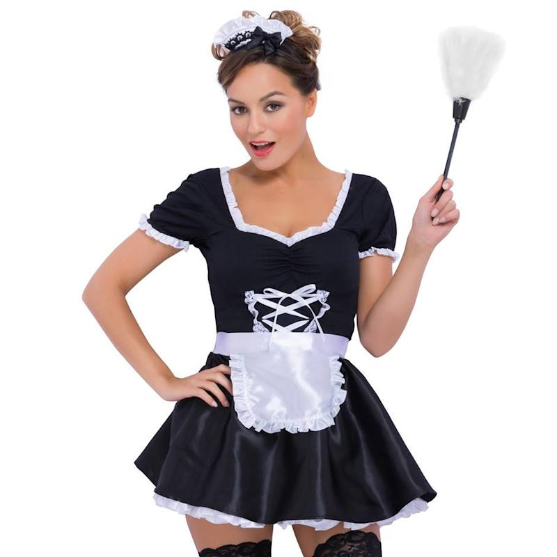 Fantasy Deluxe French Maid Costume from Lovehoney.