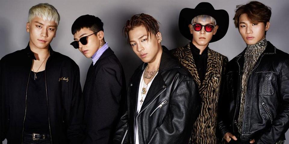 BIGBANG, photo via Asian Wiki