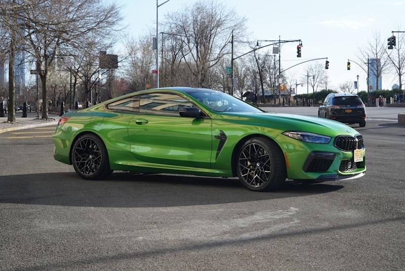 BMW M8 Competition (Credit: Pras Subramanian)