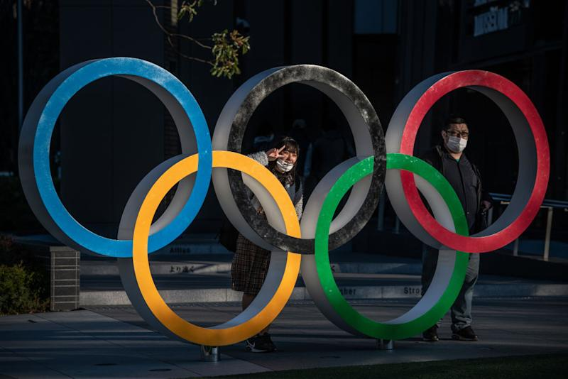 2020 Olympic Games rings