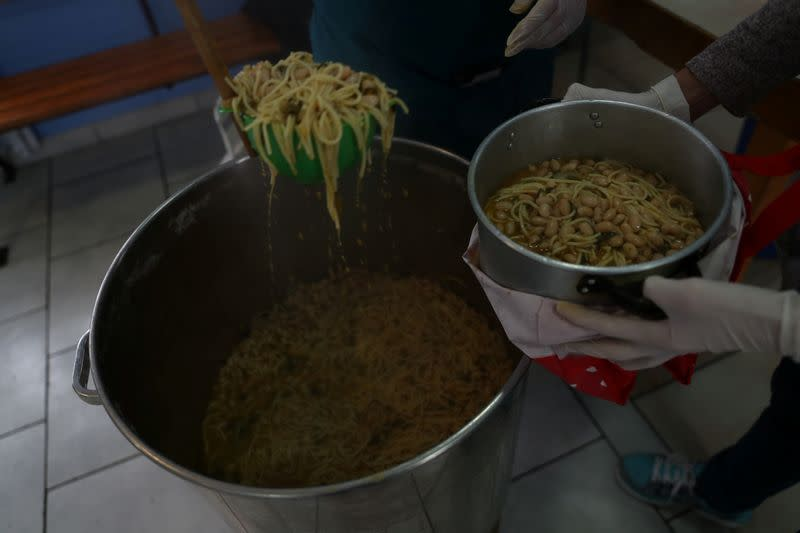 Chileans rediscover community kitchens as coronavirus, and hunger, bite