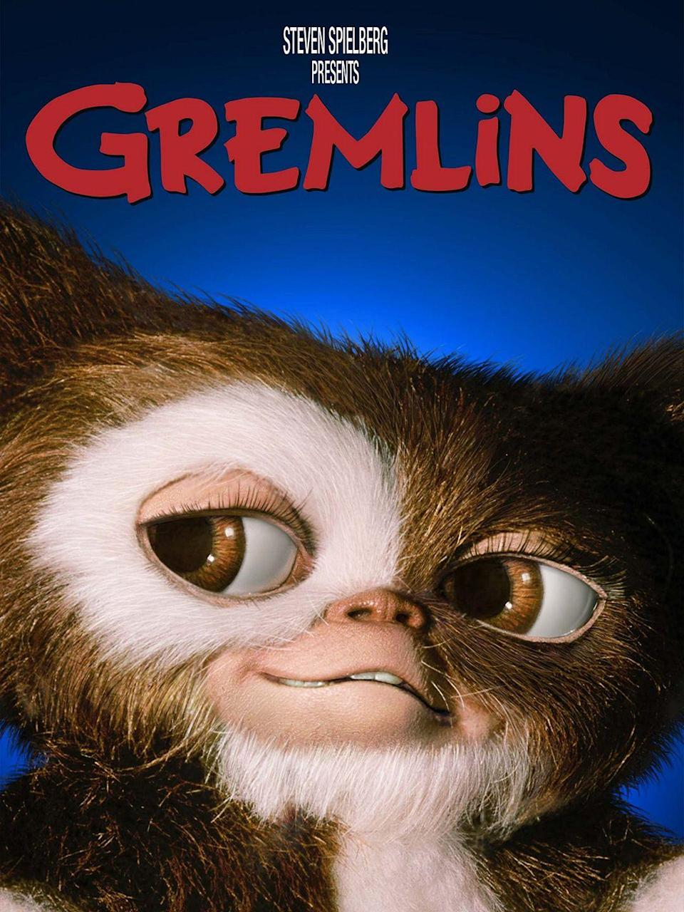 """<p>In this holiday(ish) horror movie, a cute and fuzzy present spawns evil offspring that ruin Christmas Eve after a boy breaks three important rules.</p><p><a class=""""link rapid-noclick-resp"""" href=""""https://www.amazon.com/Gremlins-Zach-Galligan/dp/B00KQ9ZW4O/?tag=syn-yahoo-20&ascsubtag=%5Bartid%7C10055.g.1315%5Bsrc%7Cyahoo-us"""" rel=""""nofollow noopener"""" target=""""_blank"""" data-ylk=""""slk:WATCH NOW"""">WATCH NOW</a></p><p><strong>RELATED: </strong><a href=""""https://www.goodhousekeeping.com/holidays/christmas-ideas/g29994860/best-christmas-horror-movies/"""" rel=""""nofollow noopener"""" target=""""_blank"""" data-ylk=""""slk:The 12 Best Christmas Horror Movies to Watch and Stream This Year"""" class=""""link rapid-noclick-resp"""">The 12 Best Christmas Horror Movies to Watch and Stream This Year</a></p>"""