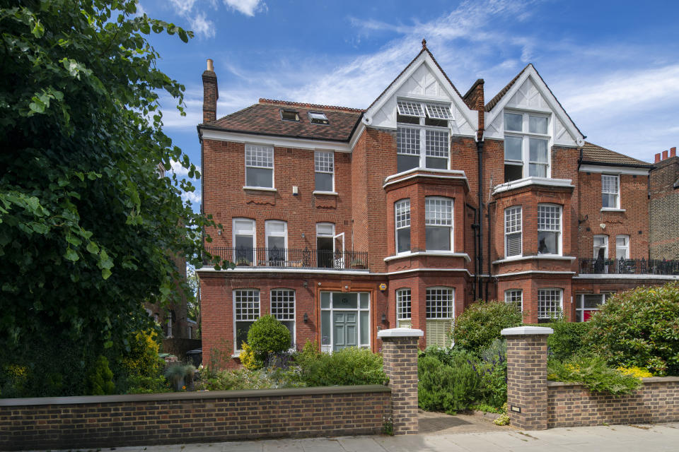 Former Bank of England governors Hampstead home was sold for £5.5m. Photo: Aston Chase