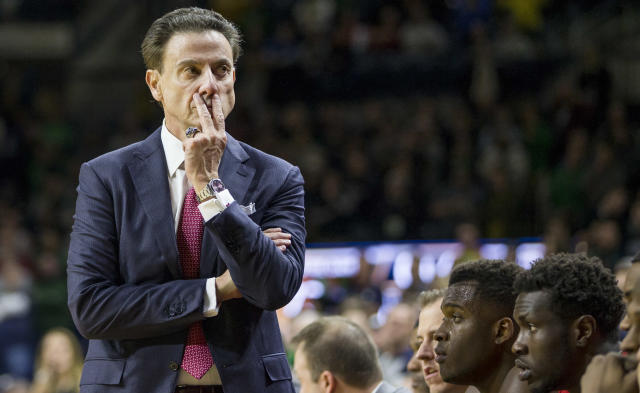 Rick Pitino became head coach at Louisville in 2001. (AP)
