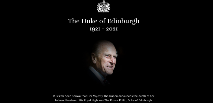 The Royal Family website has been changed to allow updates to be made. (Royal Family)