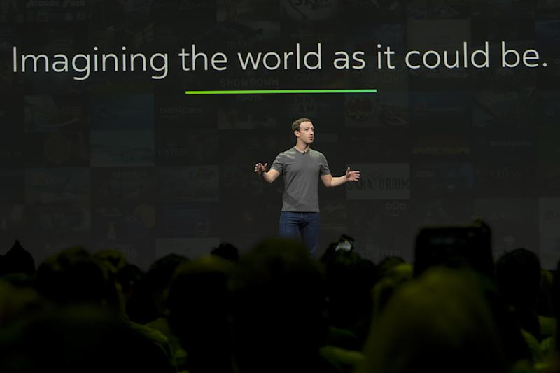 Facebook CEO Mark Zuckerberg may ultimately find himself speaking before a congressional committee rather than a product launch audience. (David Paul Morris/Bloomberg via Getty Images)