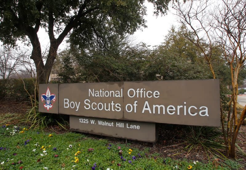 FILE PHOTO:  The Boy Scouts of America headquarters in Irving